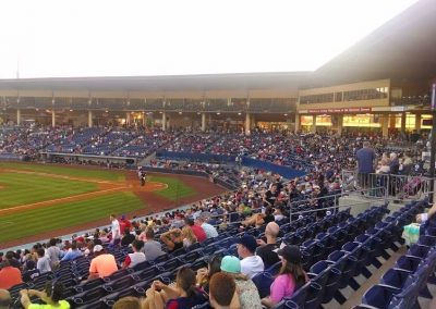 Coolray Field Grandstand View