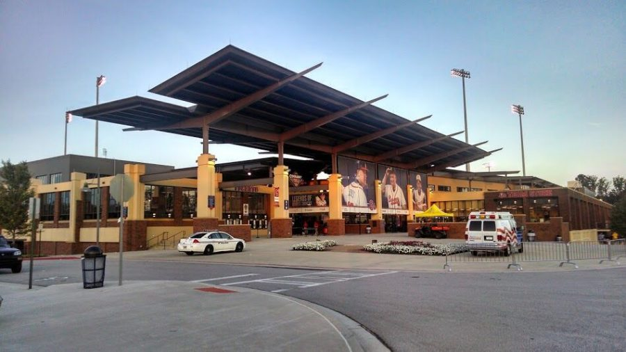 Coolray Field Exterior View