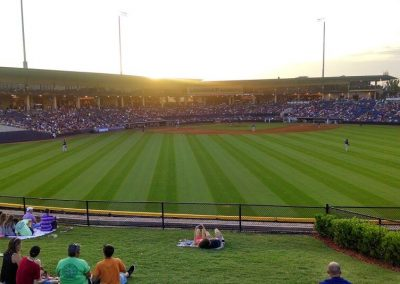 Coolray Field View from Grass Seats