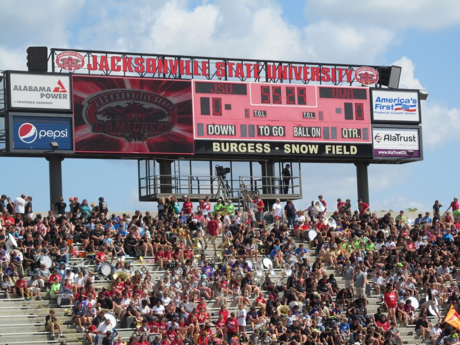 Burgess–Snow Field at JSU Stadium, Scoreboard