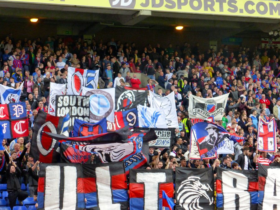 Crystal Palace Fans at Selhurt Park
