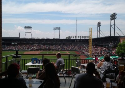 Huntington Park View from Outfield Lounge