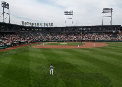 Huntington Park View from Outfield