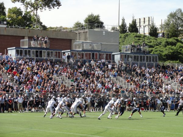 Cooper Field, Georgetown Hoyas in Action