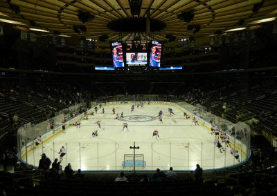 End Zone View at Madison Square Garden