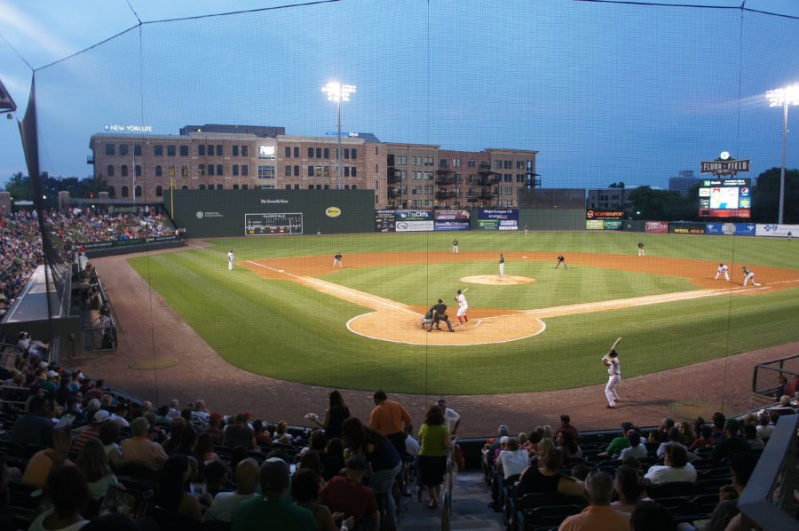 Fluor Field at the West End View