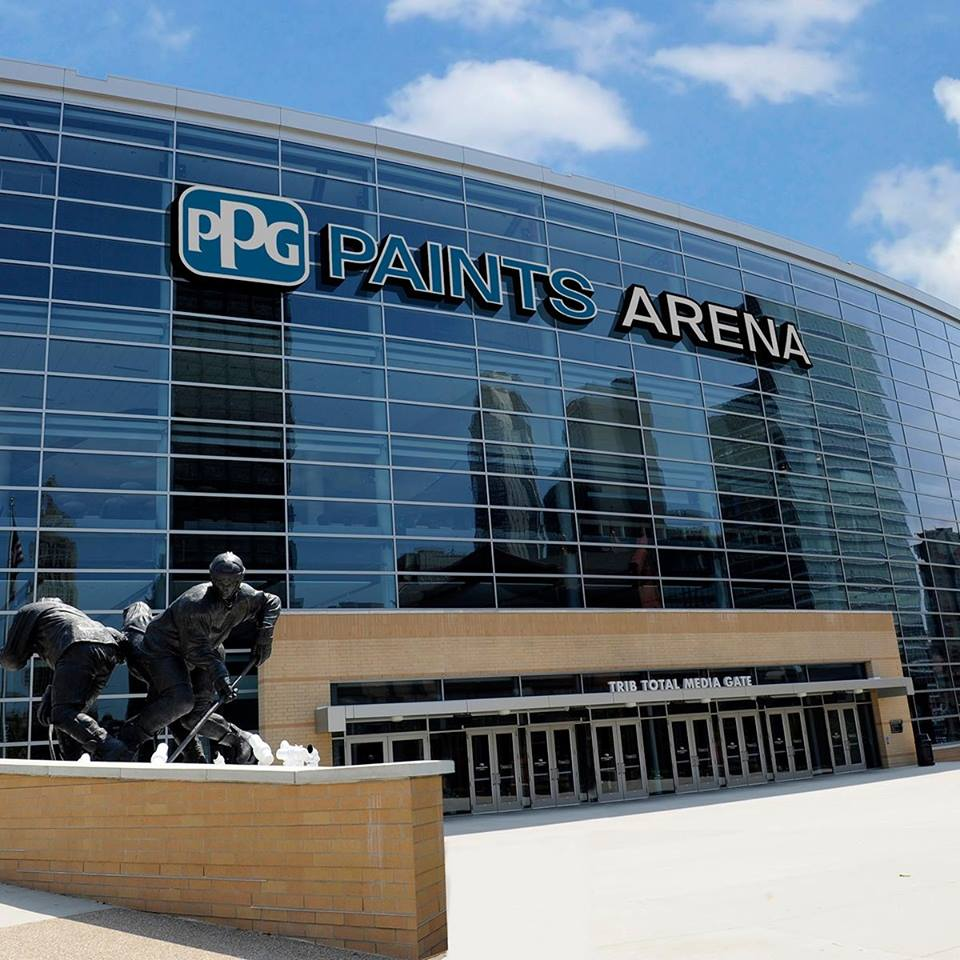 Ppg paints arena pittsburgh penguins stadium journey - Pittsburgh exterior paint reviews ...