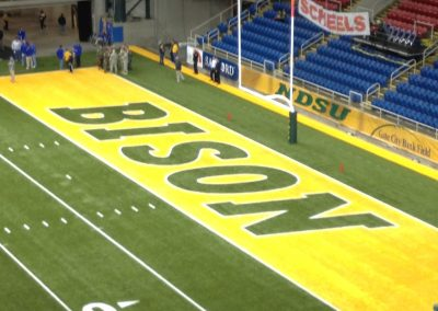 Fargodome, End Zone