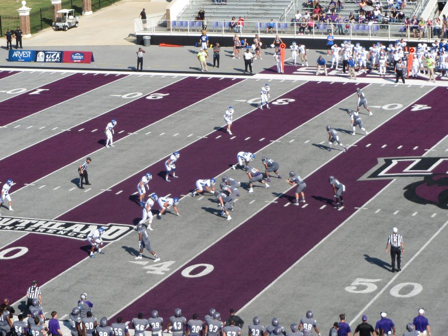 First Security Field @ Estes Stadium, Central Arkansas Bears in Action