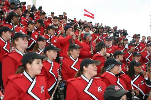 Fortera Stadium, Austin Peay Governors Marching Band