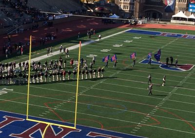 Franklin Field, Penn Quakers Come onto the Field