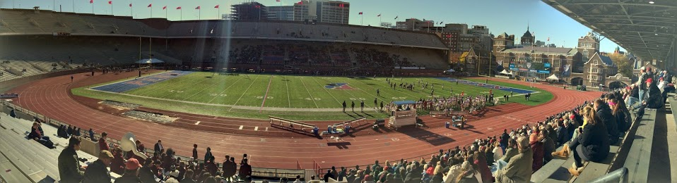 Franklin Field, panorama