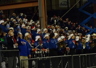 Frisco Bowl at Toyota Stadium, Close-up of the Bands