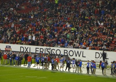 Frisco Bowl at Toyota Stadium, Fans Looking on