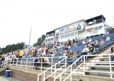 Hardy M. Graham Stadium, Home Bleachers