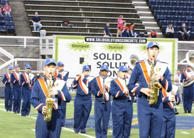 Hardy M. Graham Stadium, UTM Marching Band