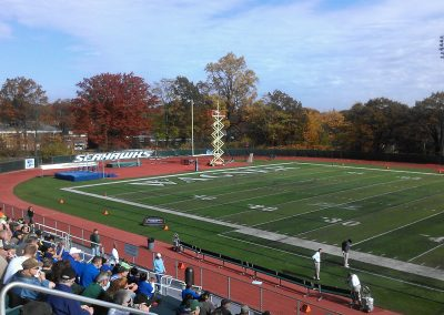Hameline Field at Wagner College Stadium, End Zone