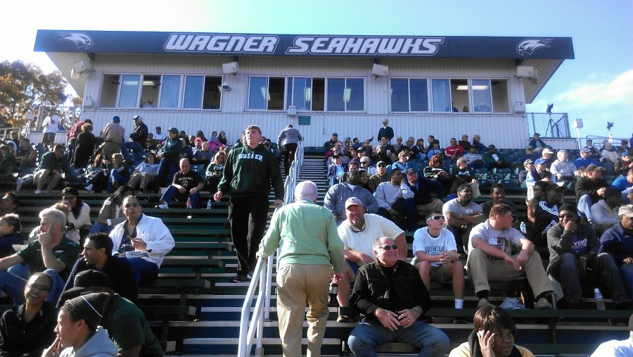 Hameline Field at Wagner College Stadium, Grandstand
