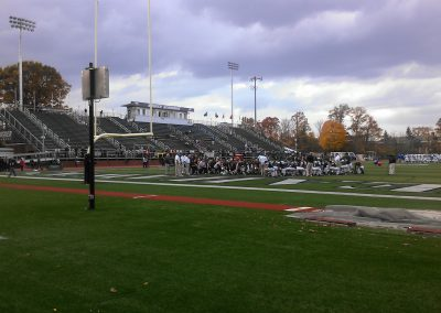 Hameline Field at Wagner College Stadium, Interior