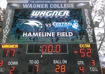 Hameline Field at Wagner College Stadium, Scoreboard