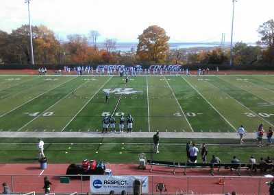 Hameline Field at Wagner College Stadium, Wagner Seahawks Midfield Logo