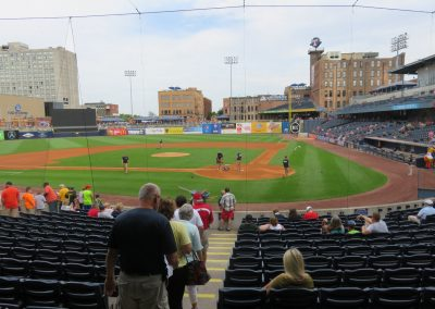 Fifth Third Field Backstop View