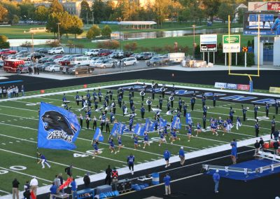 O'Brien Stadium, Eastern Illinois Panthers Take the Field