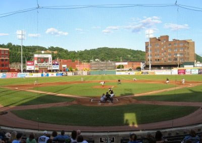 Appalachian Power Park View from Homeplate
