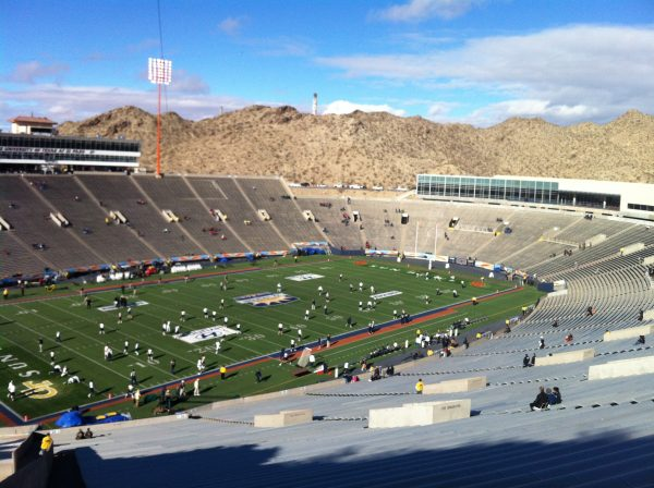 Pre-Game at Sun Bowl Stadium for the Sun Bowl