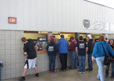 Robert W. Plaster Sports Complex, Concessions Stand
