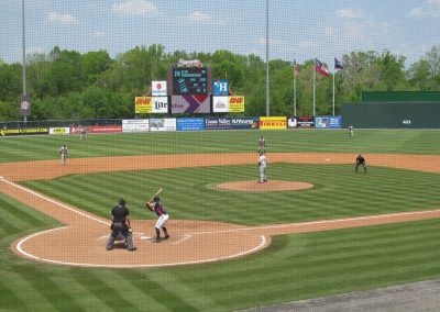State Mutual Stadium View from Home Plate