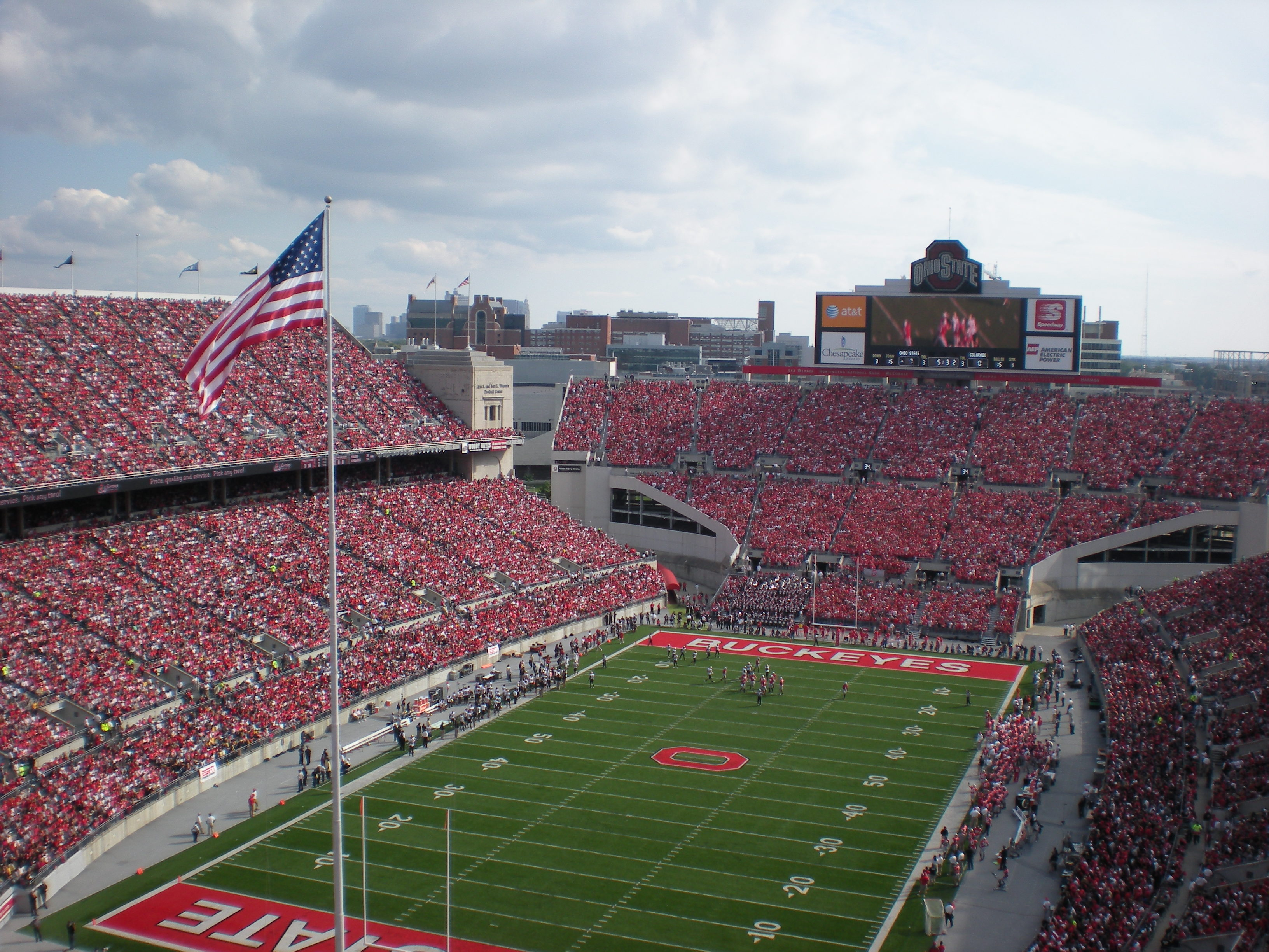 ohio stadium ohio state buckeyes stadium journey