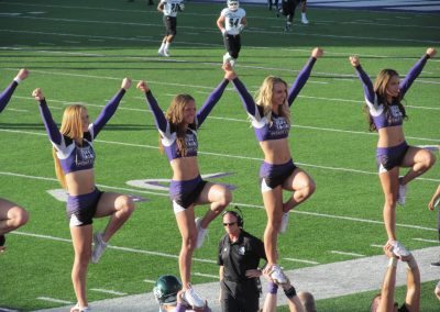 Stewart Stadium, Weber State cheerleaders
