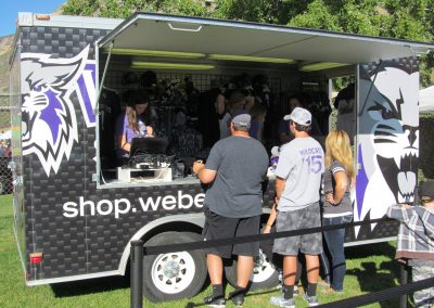 Stewart Stadium, merchandise trailer