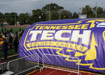 Tucker Stadium, Tennessee Tech Golden Eagles Player Tunnel