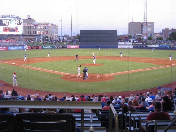 ONEOK Field View from Behind Homeplate