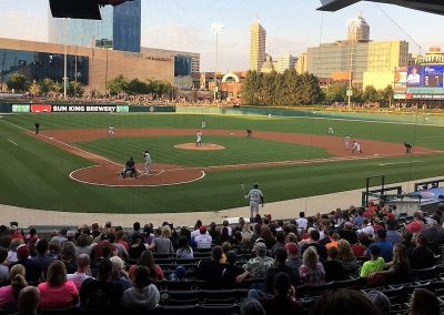 Victory Field Homeplate View