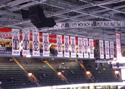 Stanley Cup Banners at Air Canada Centre