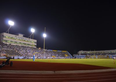 A. W. Mumford Stadium, View from the End Zone