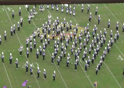Halftime Band Performance at NGR Stadium during the Texas Bowl