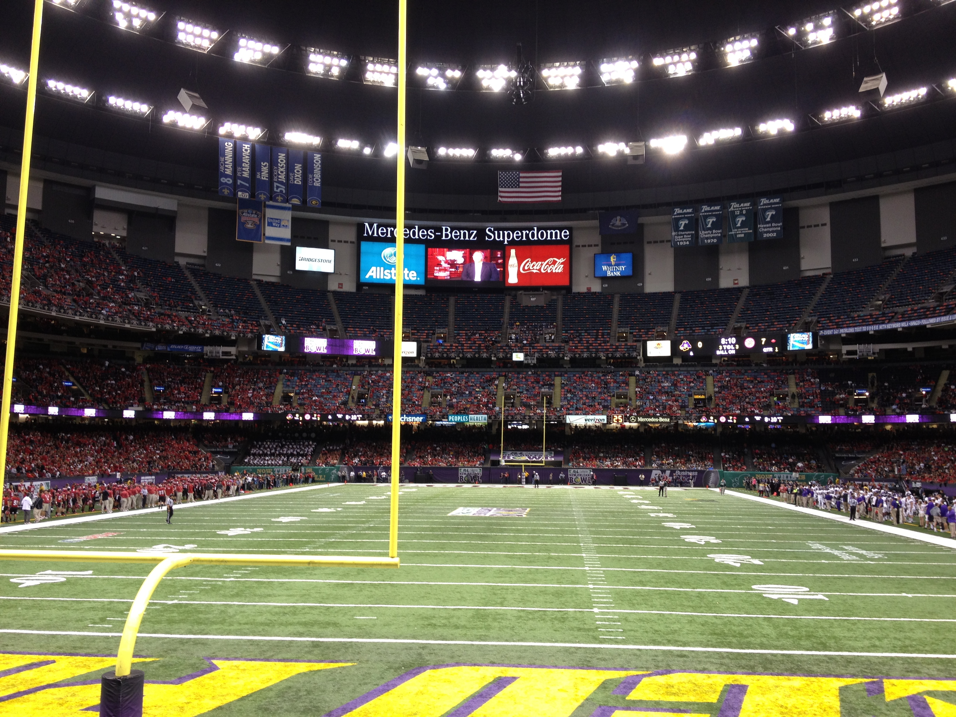 mercedes-benz superdome – new orleans bowl | stadium journey
