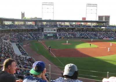 Full House at Dunkin' Donuts Park