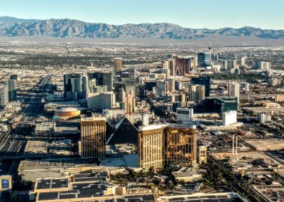 View of Las Vegas from the Air