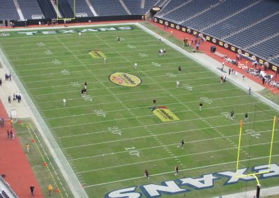 Pre-Game at NGR Stadium during the Texas Bowl