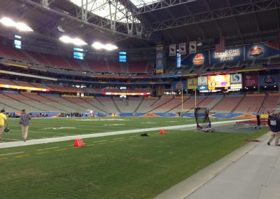 Pre-Game Interior at University of Phoenix Stadium, Home of the Fiesta Bowl