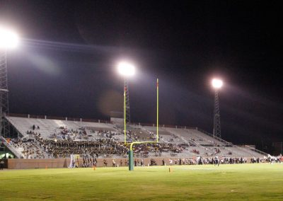 Rice-Totten Stadium, Interior