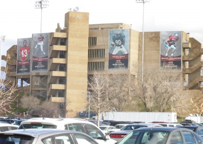 Dreamstyle Stadium Exterior during the New Mexico Bowl
