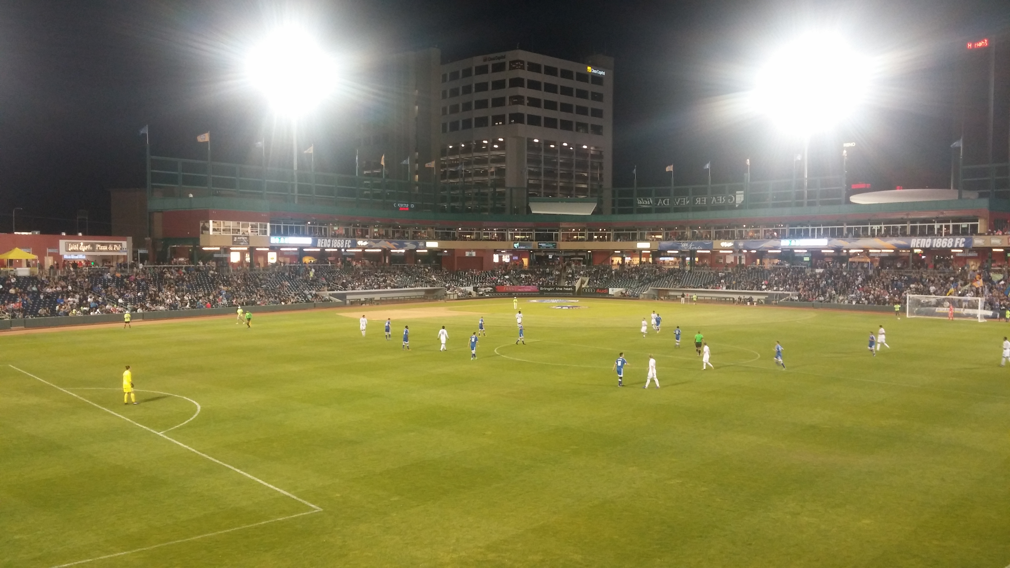 First Rate Auto >> Greater Nevada Field – Reno 1868 FC | Stadium Journey