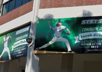 Conrad Park at Melching Field, Former Stetson Player Honors