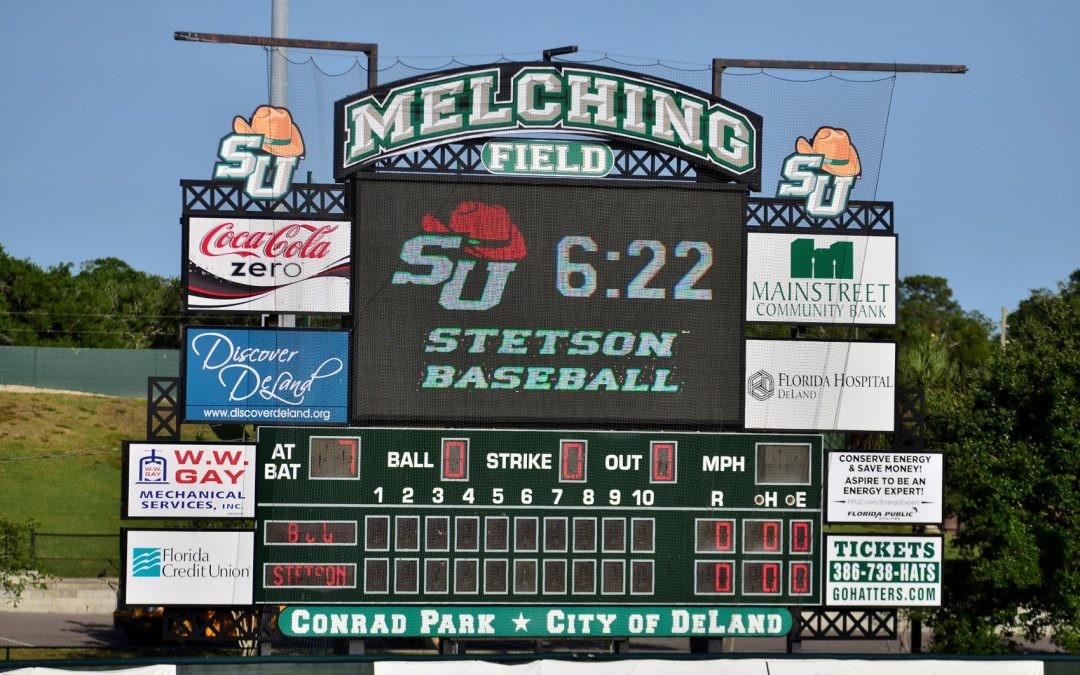 Conrad Park at Melching Field – Stetson Hatters